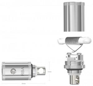 Atomizador reparable RBA